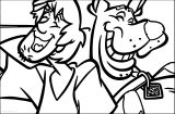 Scooby Doo Very Funny Laugh Coloring Page