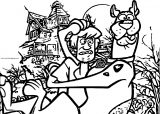Shaggy Scooby Doo 6 Coloring Page