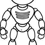 Power Robot Coloring Page
