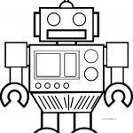 Robot Coloring Page WeColoringPage 57