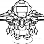 Robot Coloring Page WeColoringPage 60