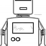 Robot Coloring Page WeColoringPage 63