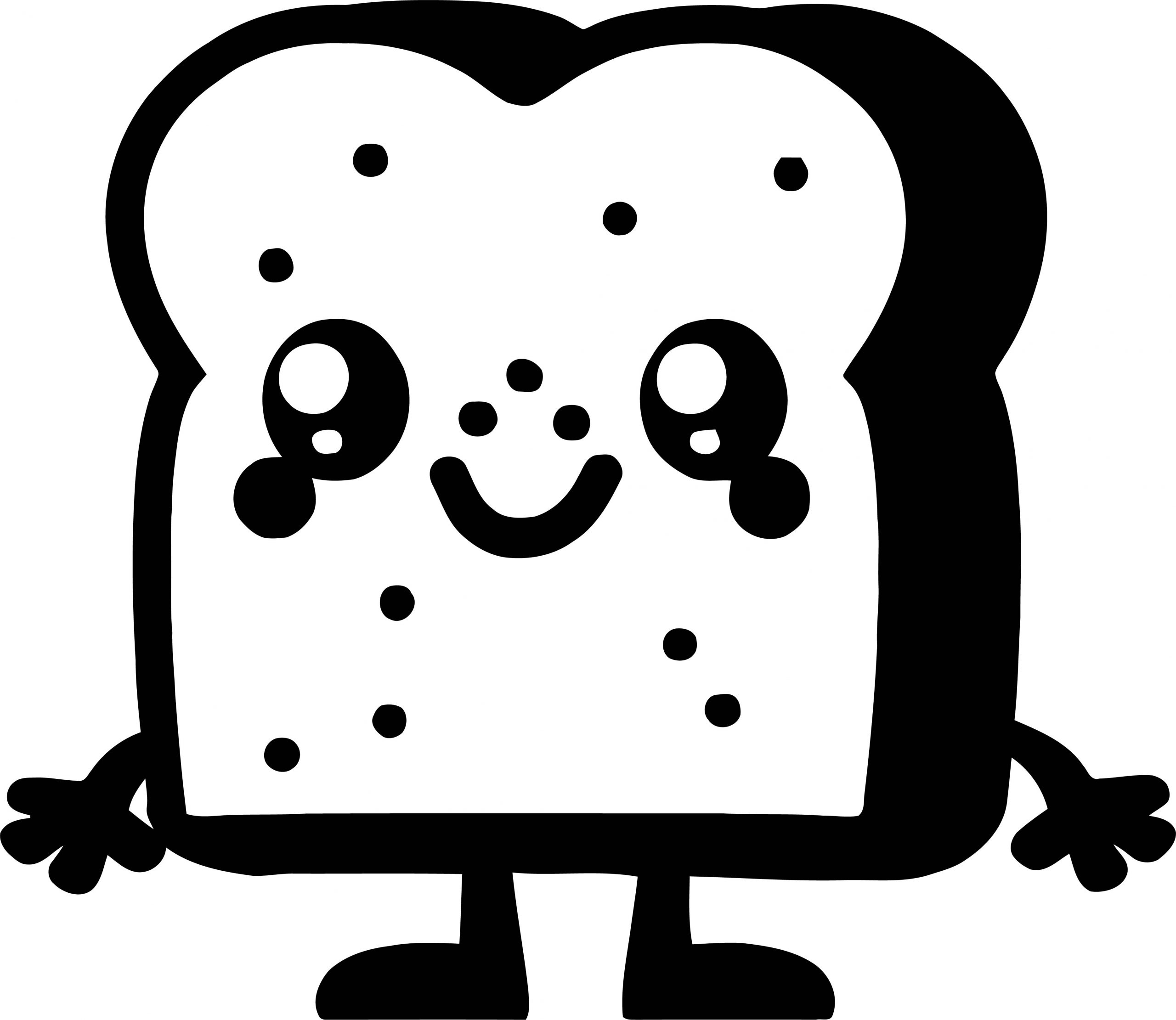 Toasty Coloring Page