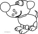 01 dog coloring page 05