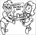 145 Happy Mothers Day 2 Clipart Kids We Coloring Page