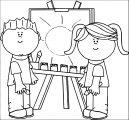 147dfcffc56ba7fe869068022447e59c0e Kids We Coloring Page