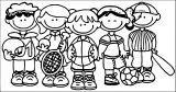 152fee3191942cdc8aeb50528db52 Kids We Coloring Page
