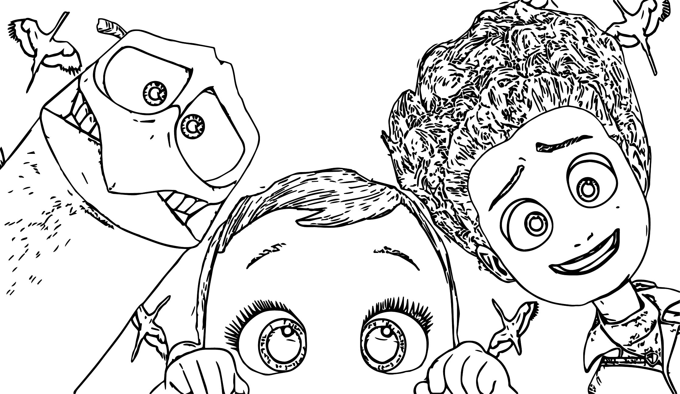 2016 storks movie coloring pages