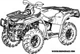 4 Wheeler Coloring Page WeColoringPage 05