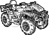 4 Wheeler Coloring Page WeColoringPage 08