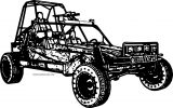 4 Wheeler Coloring Page WeColoringPage 09