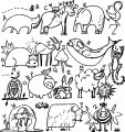 Abc Animal Coloring Page WeColoringPage 11