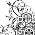 Abstract art coloring page (2)
