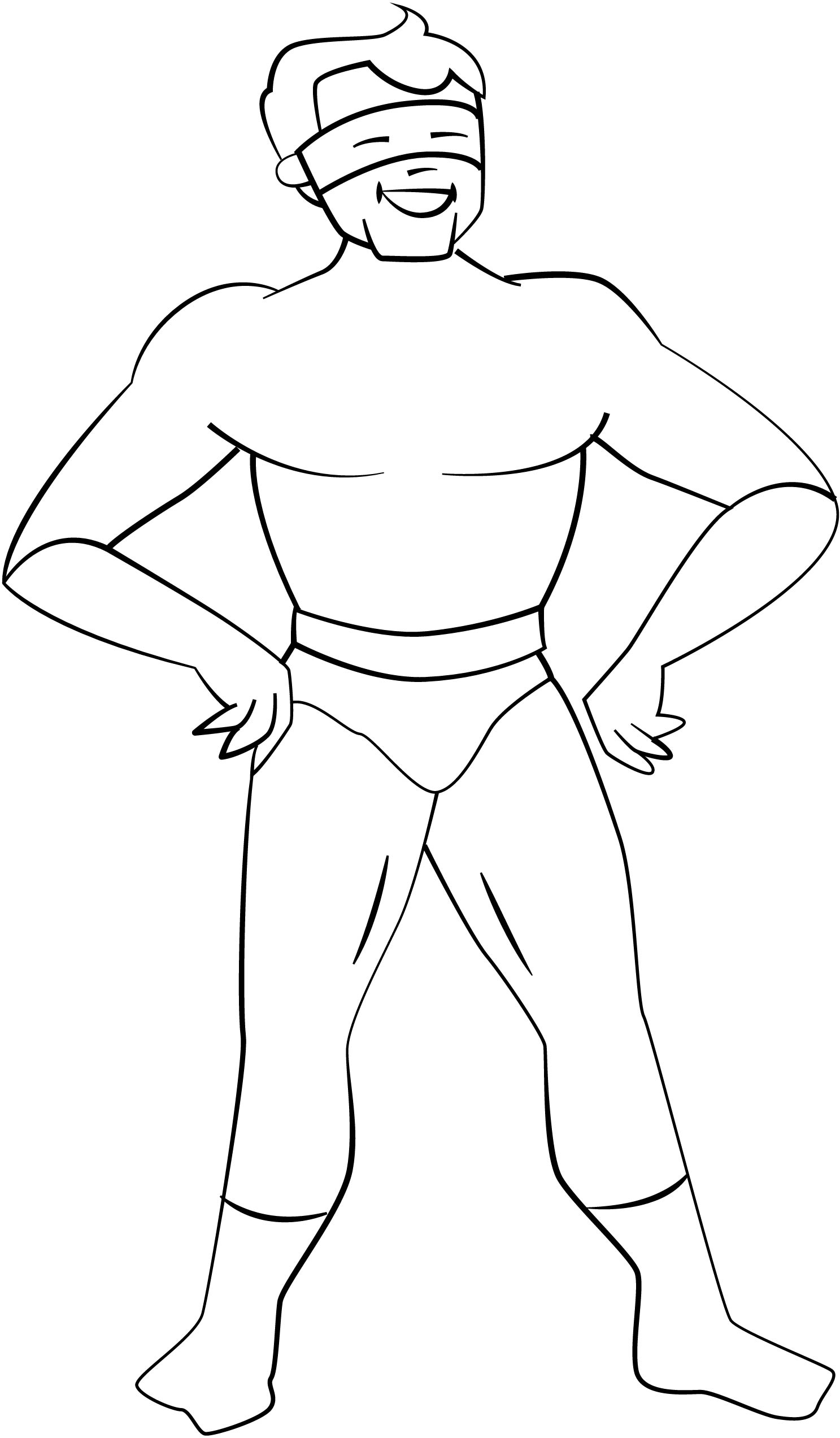 Action Man Heroes Coloring Page 02