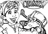 Adventures In Odyssey Coloring Page  13