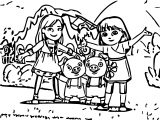 All Together Now Dora And Friends Friends Help Friends Coloring Page