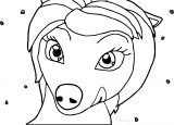 Alpha And Omega Lilly Wolf Coloring Page