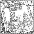 Amelia Bedelia Cake 1 Coloring Page