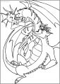 American Dragon Jake Long Girl And Man Free A4 Printable Coloring Page