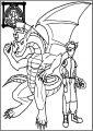 American Dragon Jake Long Power Team Free A4 Printable Coloring Page