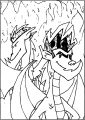 American Dragon New And Old Free A4 Printable Coloring Page