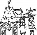 American Indian Coloring Page WeColoringPage 08
