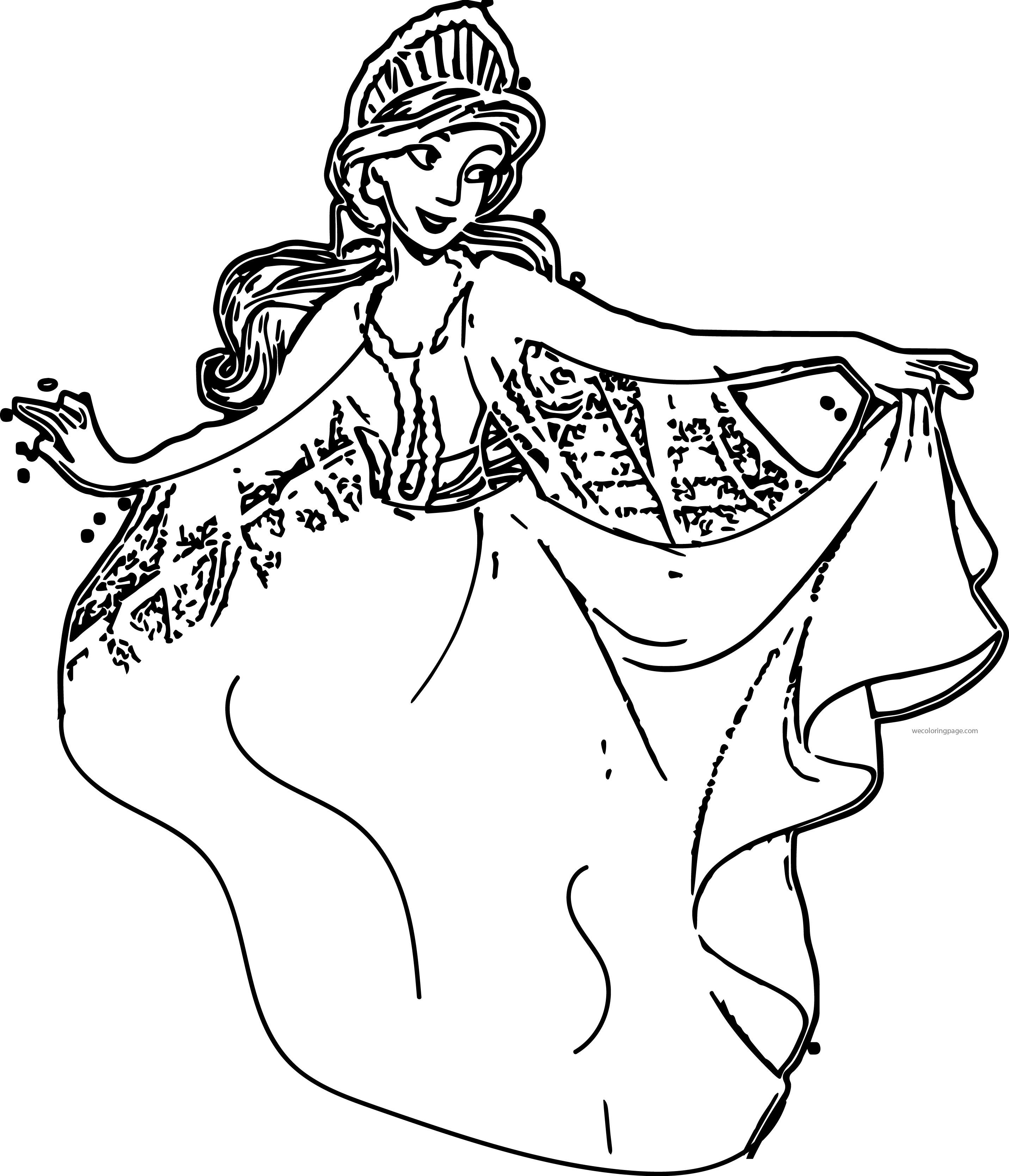 Anastasia Princess Coloring Page