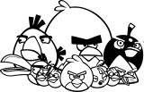 Angry Birds Coloring Page 089