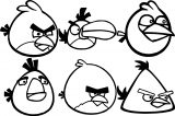 Angry Birds Coloring Page 219