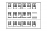 Apartmen Front View Coloring Page