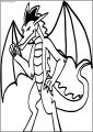 Are You Ready American Dragon Jake Long Free A4 Printable Coloring Page