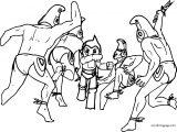 Astro Boy Coloring Page 091