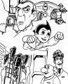 Astro Boy Coloring Page 142