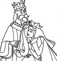 Aurora Queen Leah and Kings Stefan and Hubert Coloring Page 15