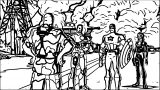 Avengers Coloring Page 043