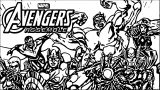 Avengers Coloring Page 072