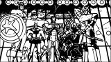 Avengers Coloring Page 099