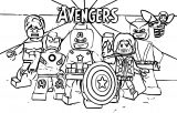 Avengers Coloring Page 208