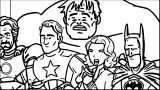 Avengers Coloring Page 235
