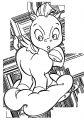 Baby Pegasus Coloring Page