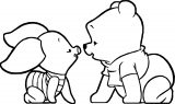 Baby Piglet Winnie The Pooh Coloring Page 06