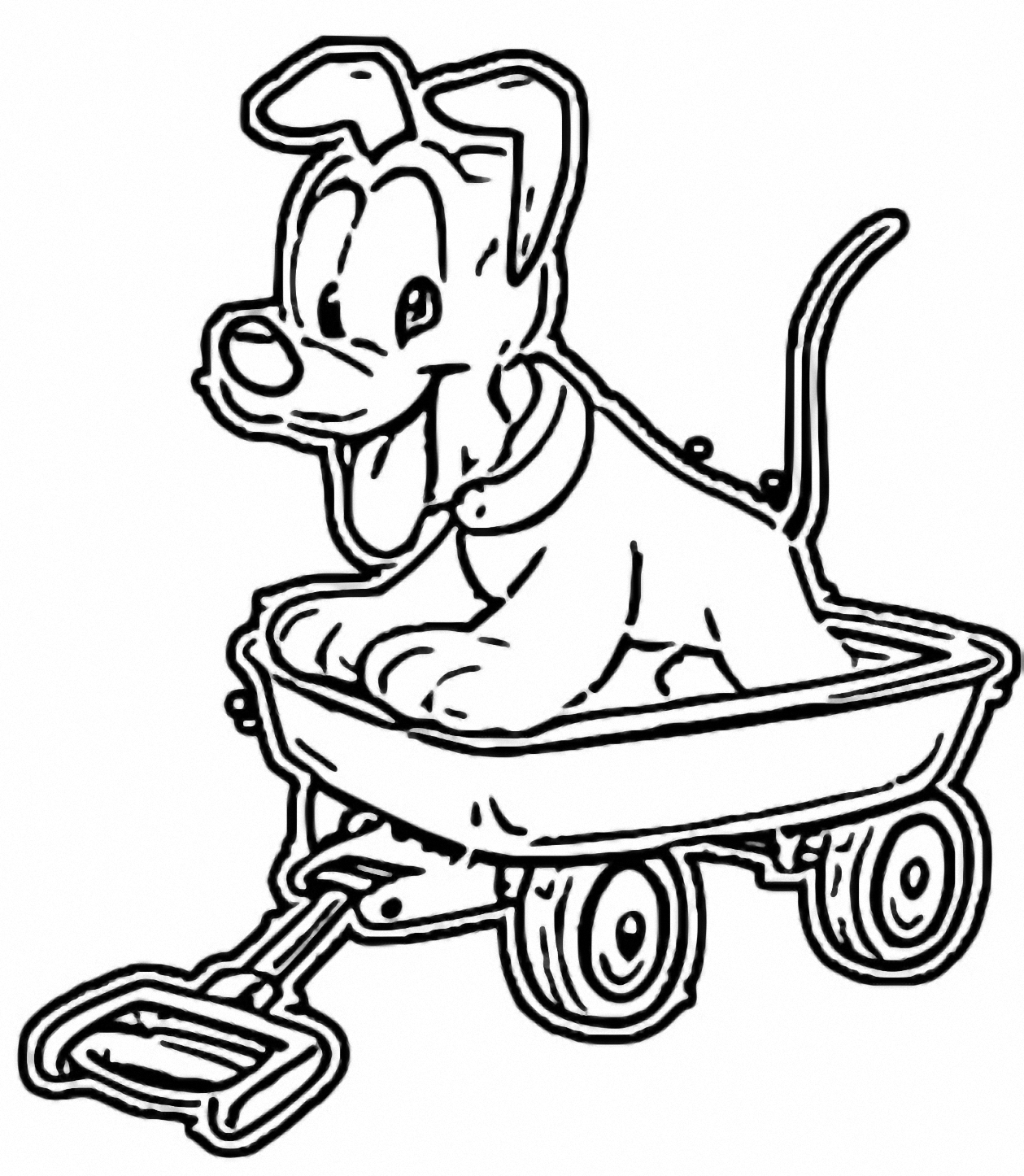 Baby Pluto Coloring Page  073