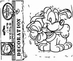 Baby Pluto Coloring Page  100