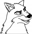 Balto Wolf Image Coloring Page