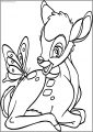 Bambi Butter Free Printable Coloring Pages