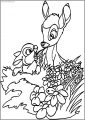 Bambi Weeds Free Printable Coloring Pages