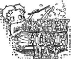 Betty Boop We Coloring Page 040