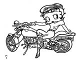 Betty Boop We Coloring Page 047