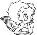 Betty Boop We Coloring Page 048