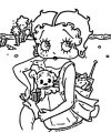Betty Boop We Coloring Page 197